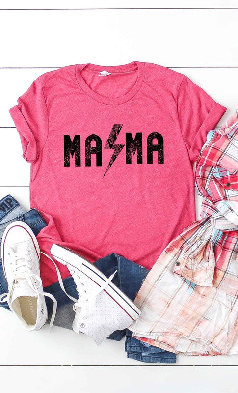 Rock and Roll Mama T-Shirt - Berry.