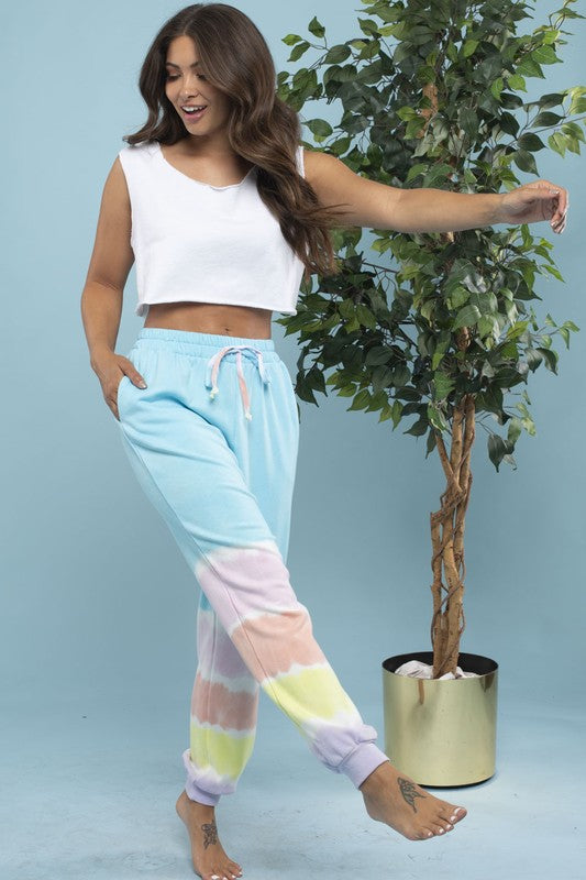 Gradient Tie Dye Jogger - OWN YOUR ELEGANCE