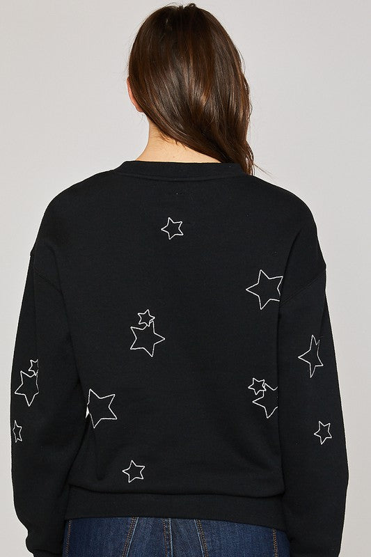 Black Star Sweatshirt.