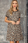 Ambra Leopard Shirt Dress - OWN YOUR ELEGANCE