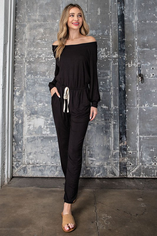 Jennifer Jumpsuit - Black - OWN YOUR ELEGANCE