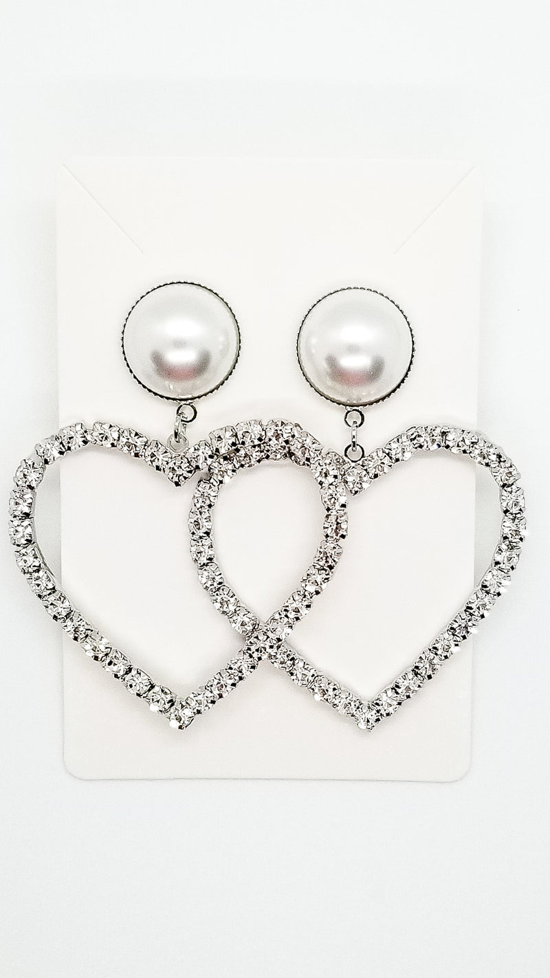 Heart Earrings - OWN YOUR ELEGANCE