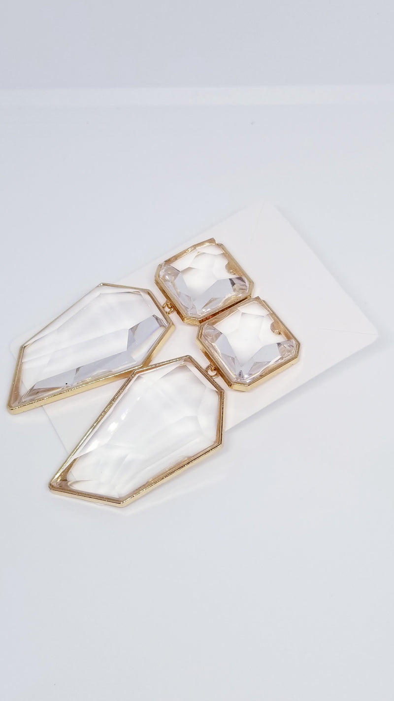 Beveled Earrings - OWN YOUR ELEGANCE