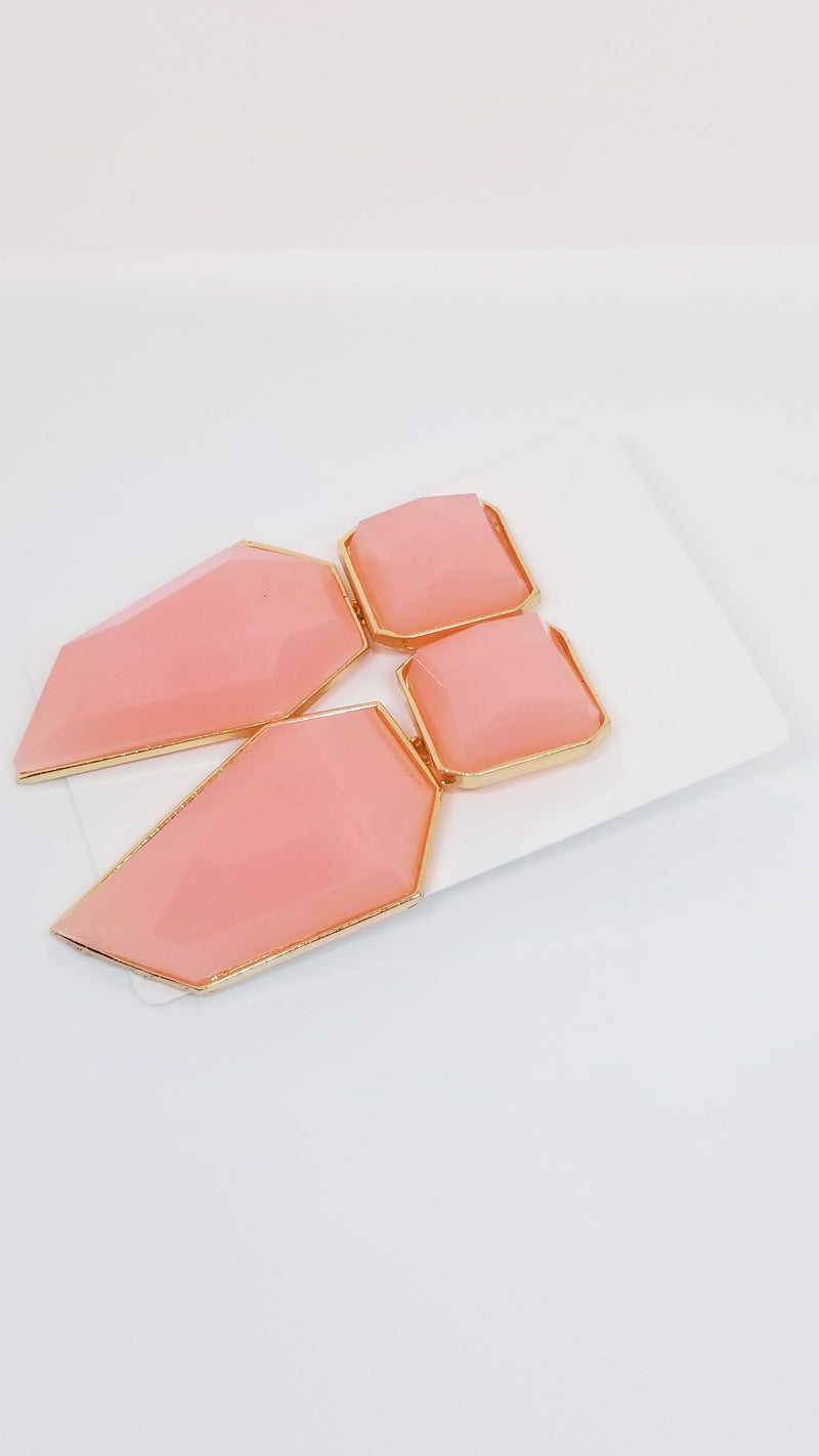 Peach Earrings - OWN YOUR ELEGANCE