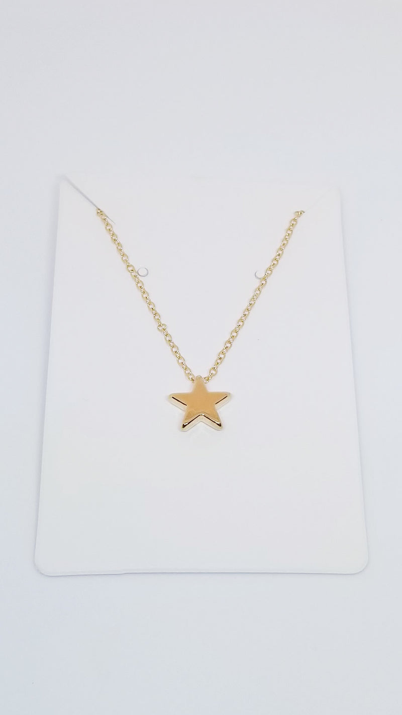 Star Necklace - Gold - OWN YOUR ELEGANCE
