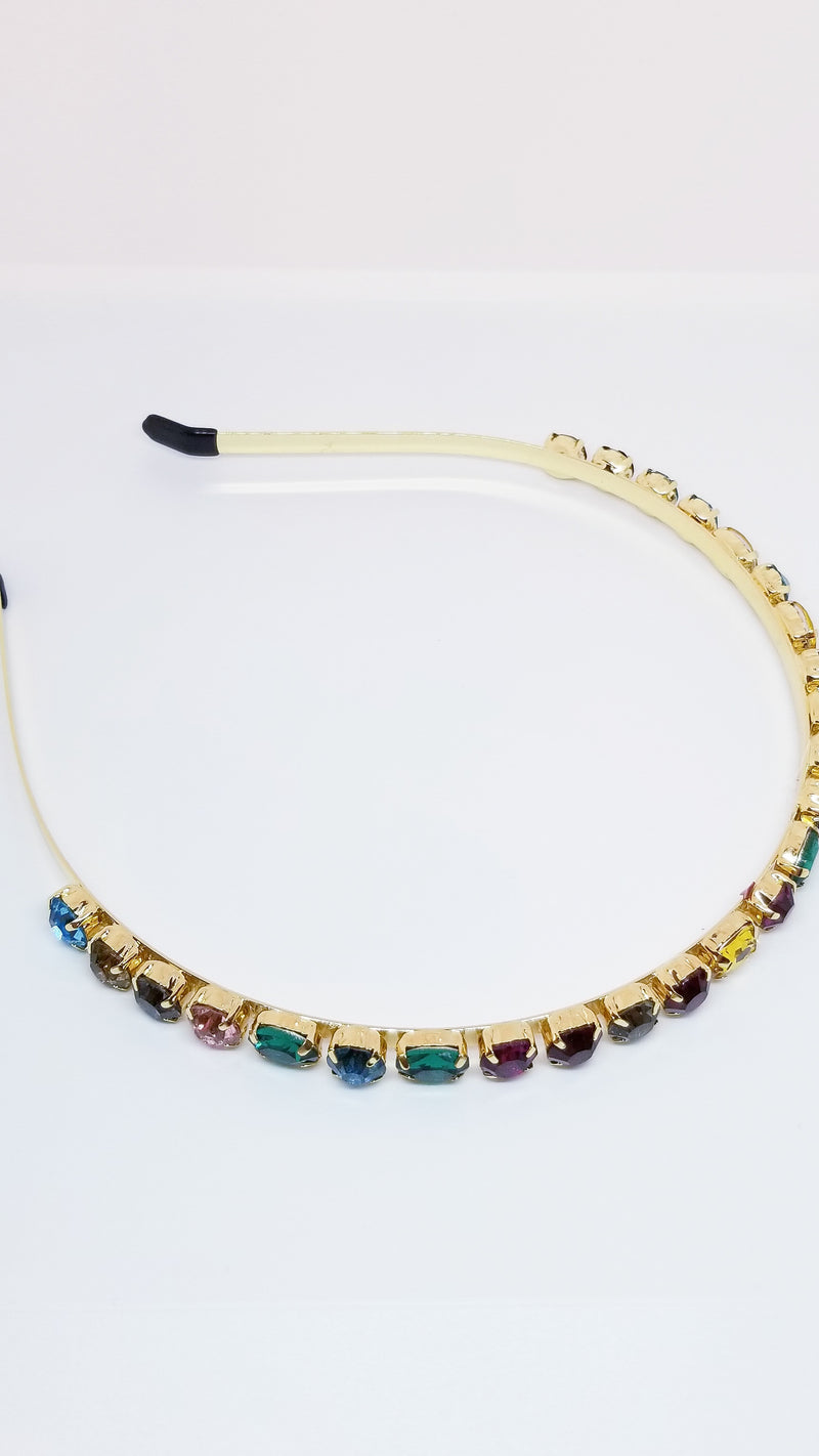 Goddess Headband - Multi Stones - OWN YOUR ELEGANCE