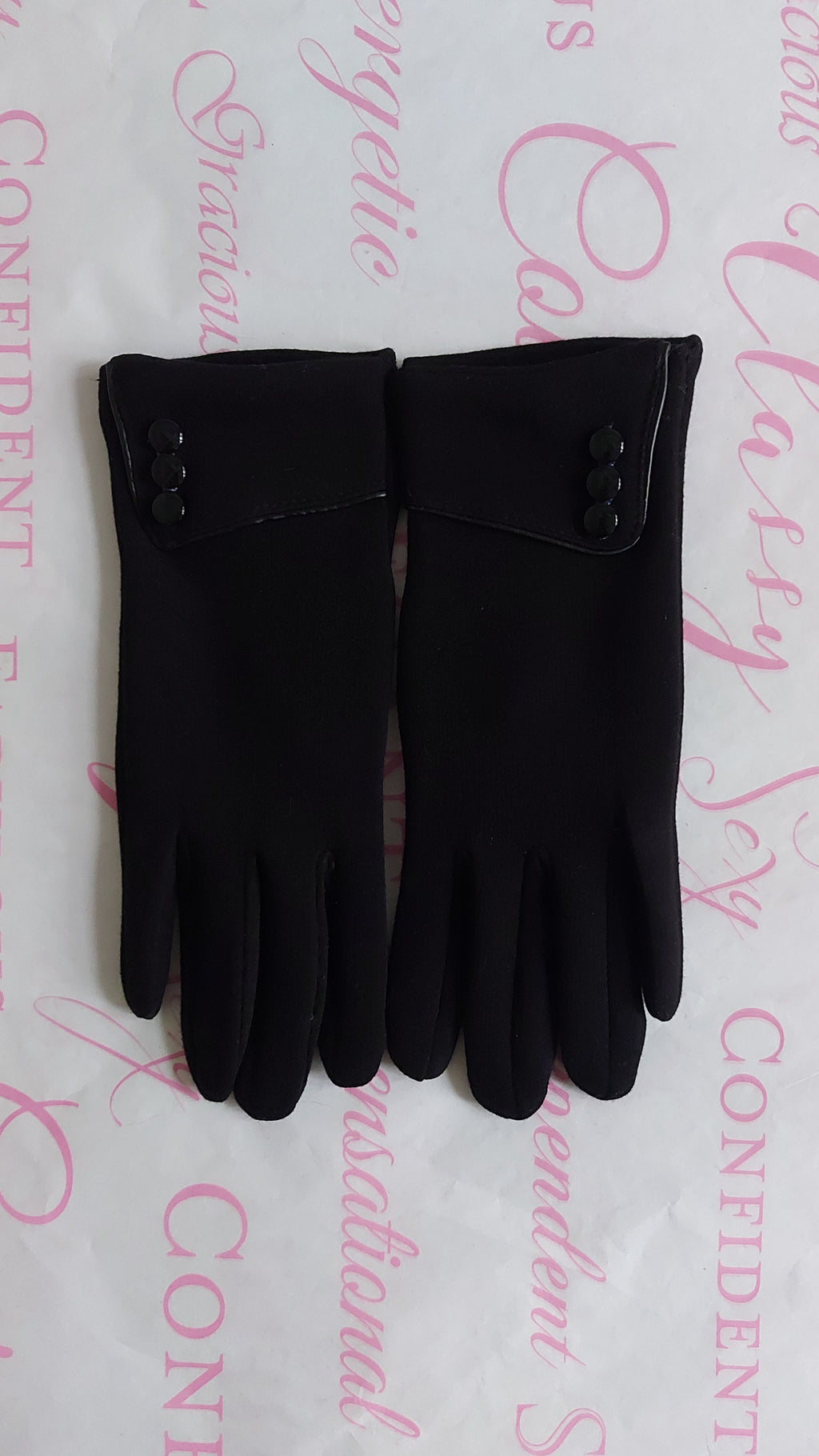 Button Suede Gloves - OWN YOUR ELEGANCE
