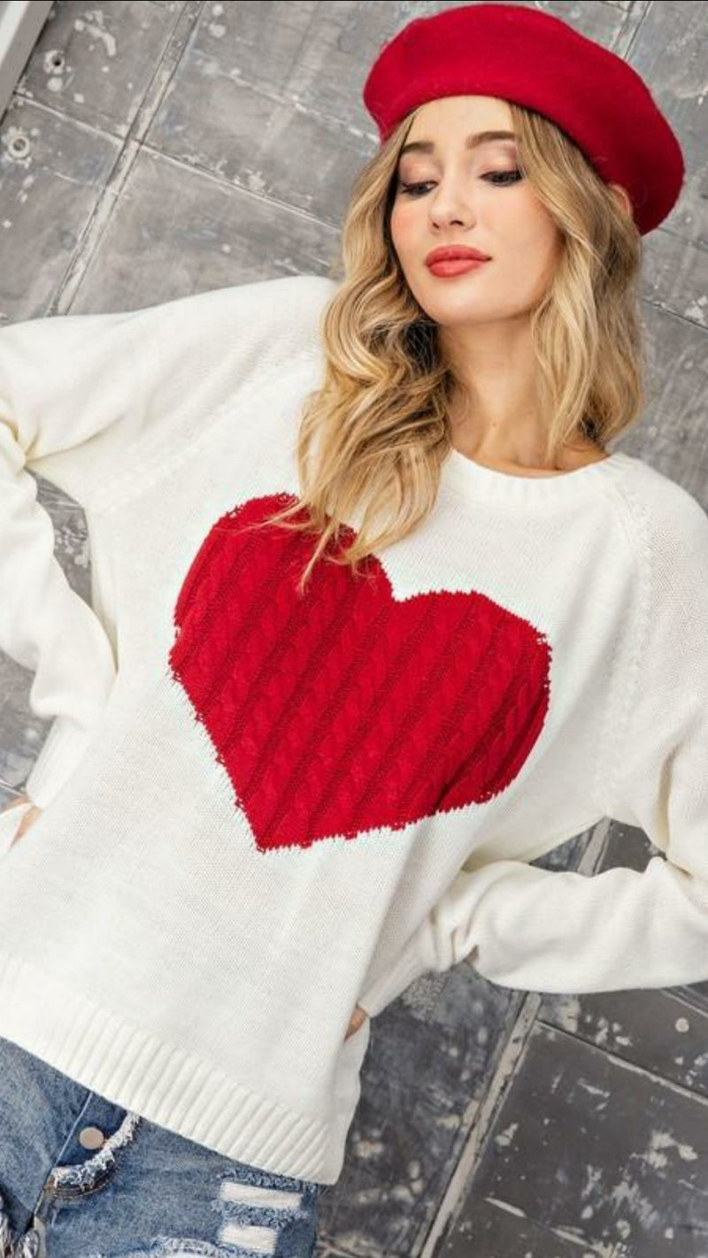 Love Her Sweater - Cream - OWN YOUR ELEGANCE