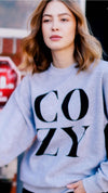 Cozy Sweatshirt - Grey - OWN YOUR ELEGANCE