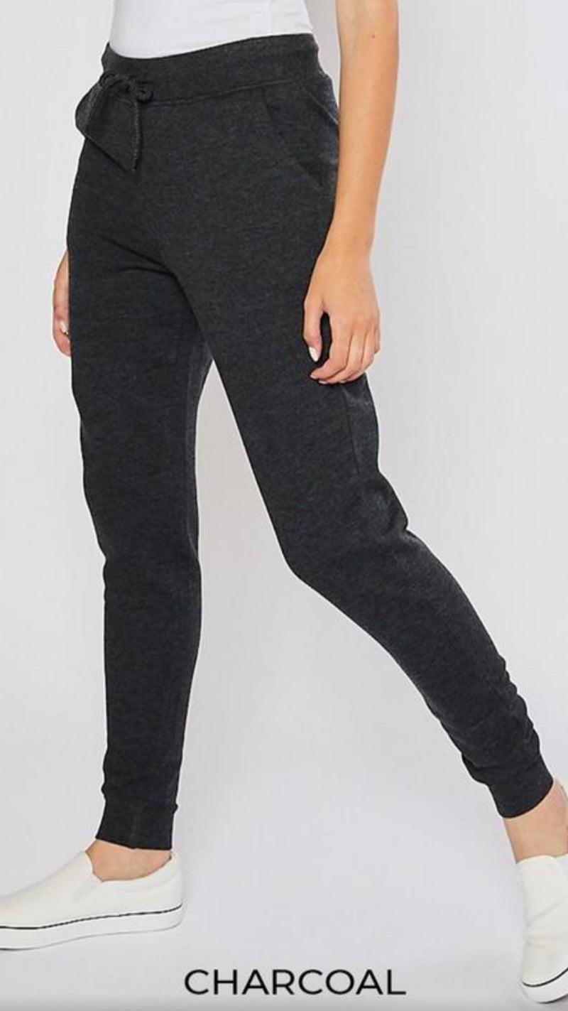 Relaxed Fit Jogger - Charcoal - OWN YOUR ELEGANCE