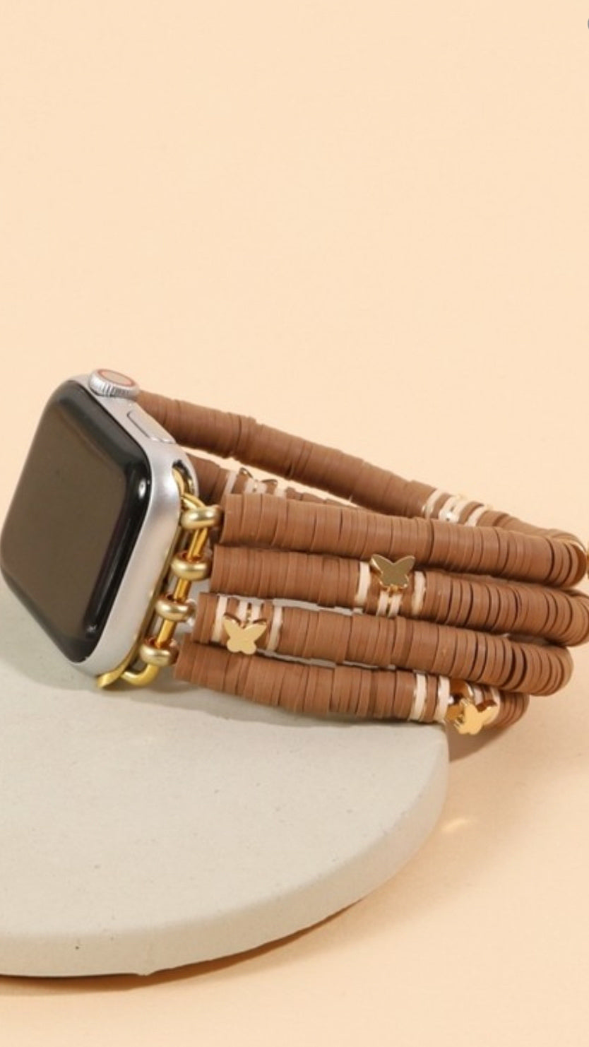 iWatch Butterfly Band - Brown - OWN YOUR ELEGANCE