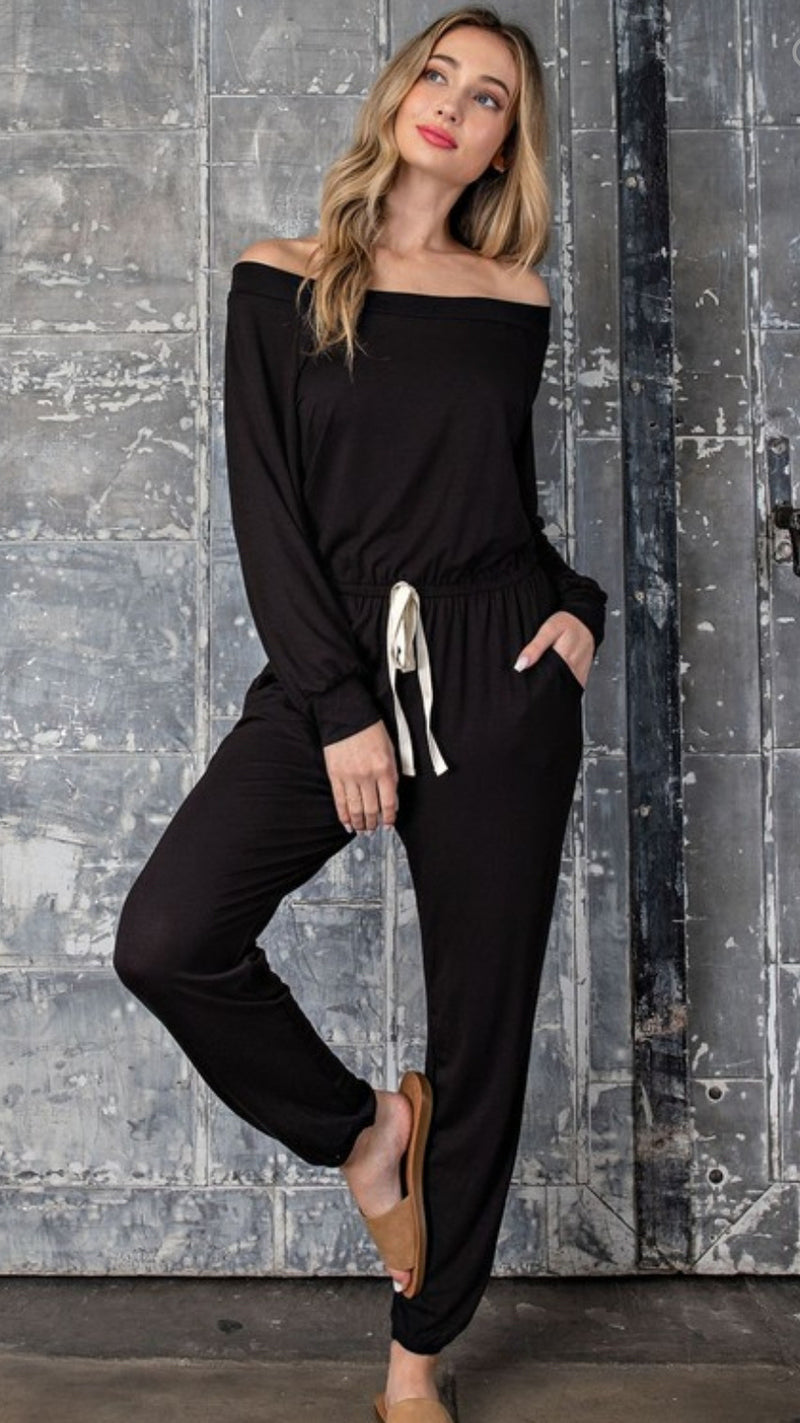 Jennifer Jumpsuit - Black