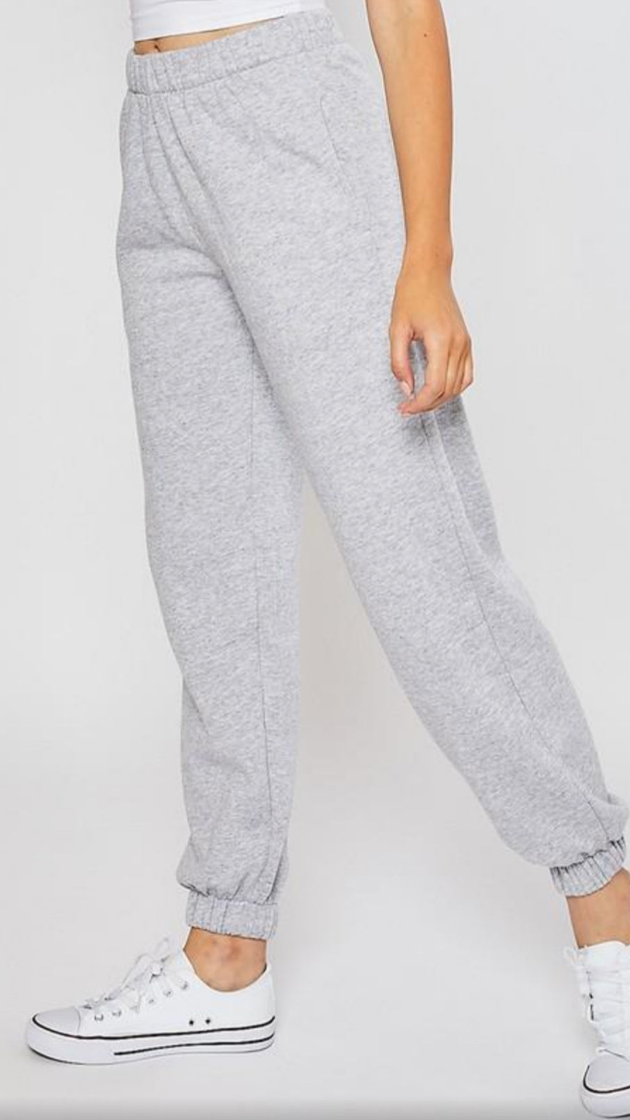 Fleece Joggers - Grey.