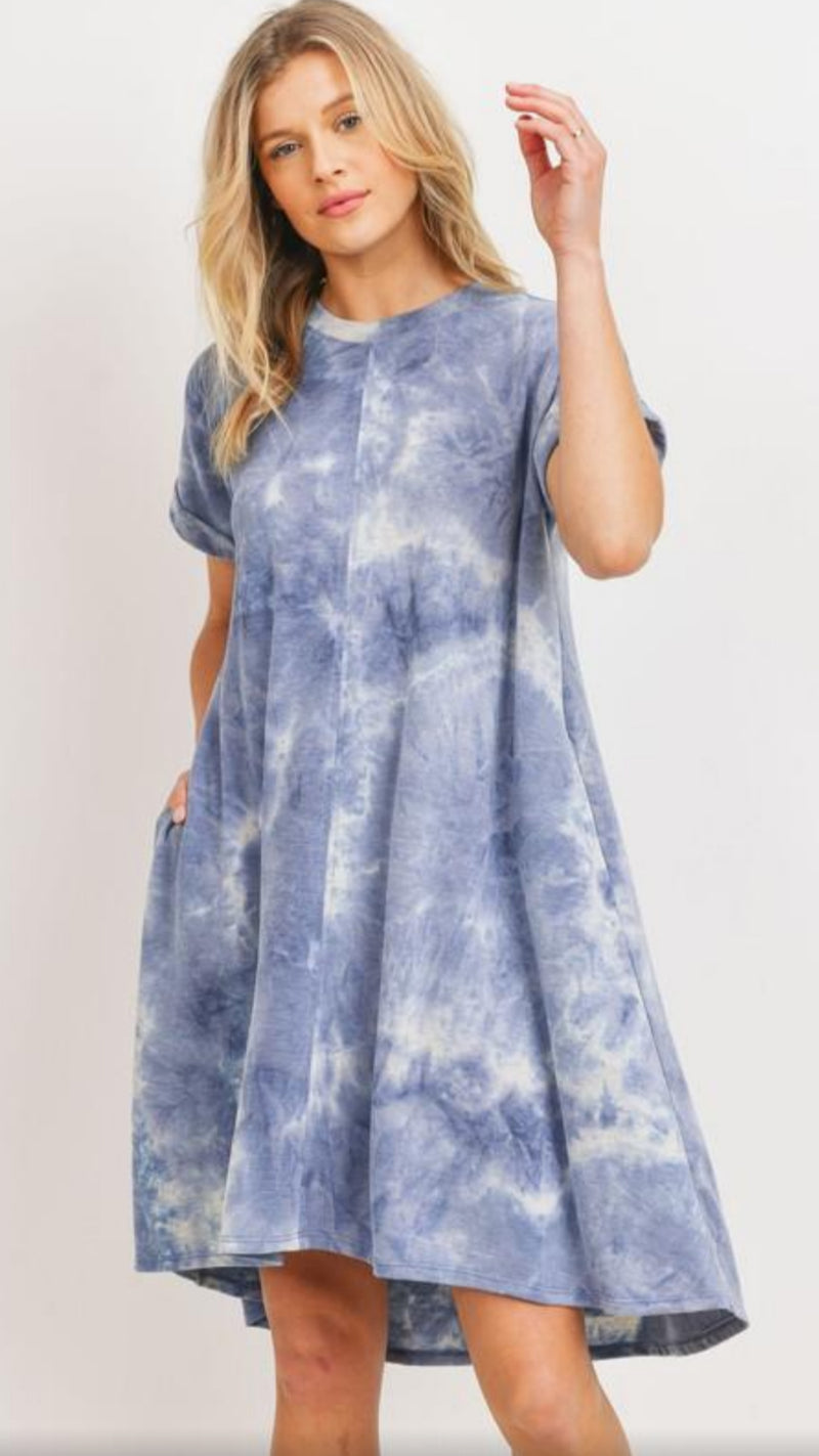 Laverna Tie Dye Dress