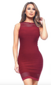 Merlot Dress - OWN YOUR ELEGANCE
