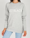Brunette The Label - Classic Crew - Jet Black