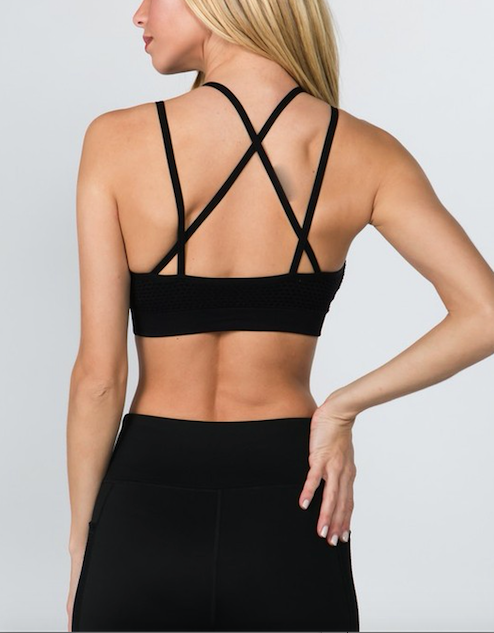 Mesh Sports Bra - OWN YOUR ELEGANCE