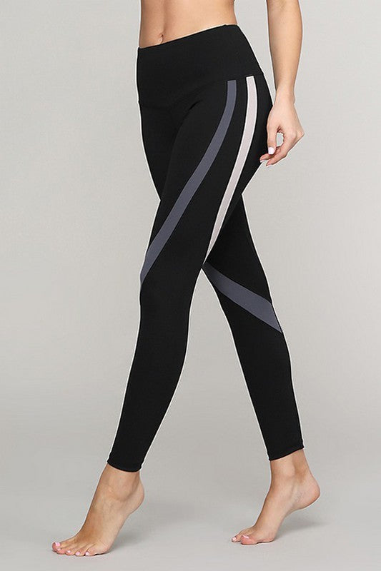 Curve Stripe Leggings