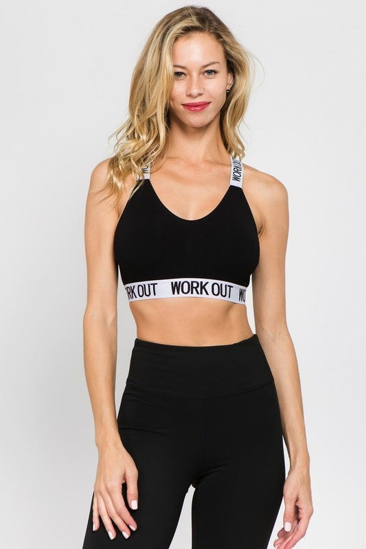 Workout Sports Bra - OWN YOUR ELEGANCE