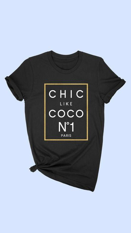 Chic T-Shirt - OWN YOUR ELEGANCE
