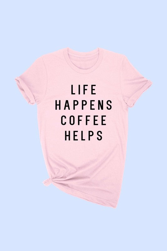 New Shirt Coffee Helps - OWN YOUR ELEGANCE