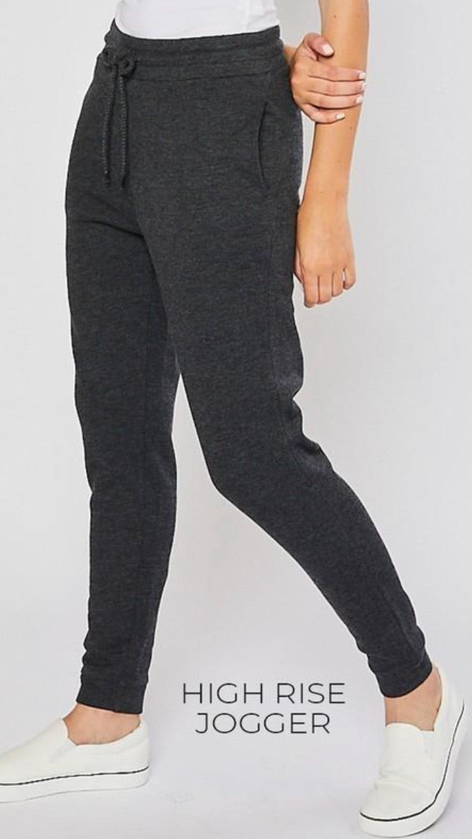 Livia Joggers - Charcoal - OWN YOUR ELEGANCE