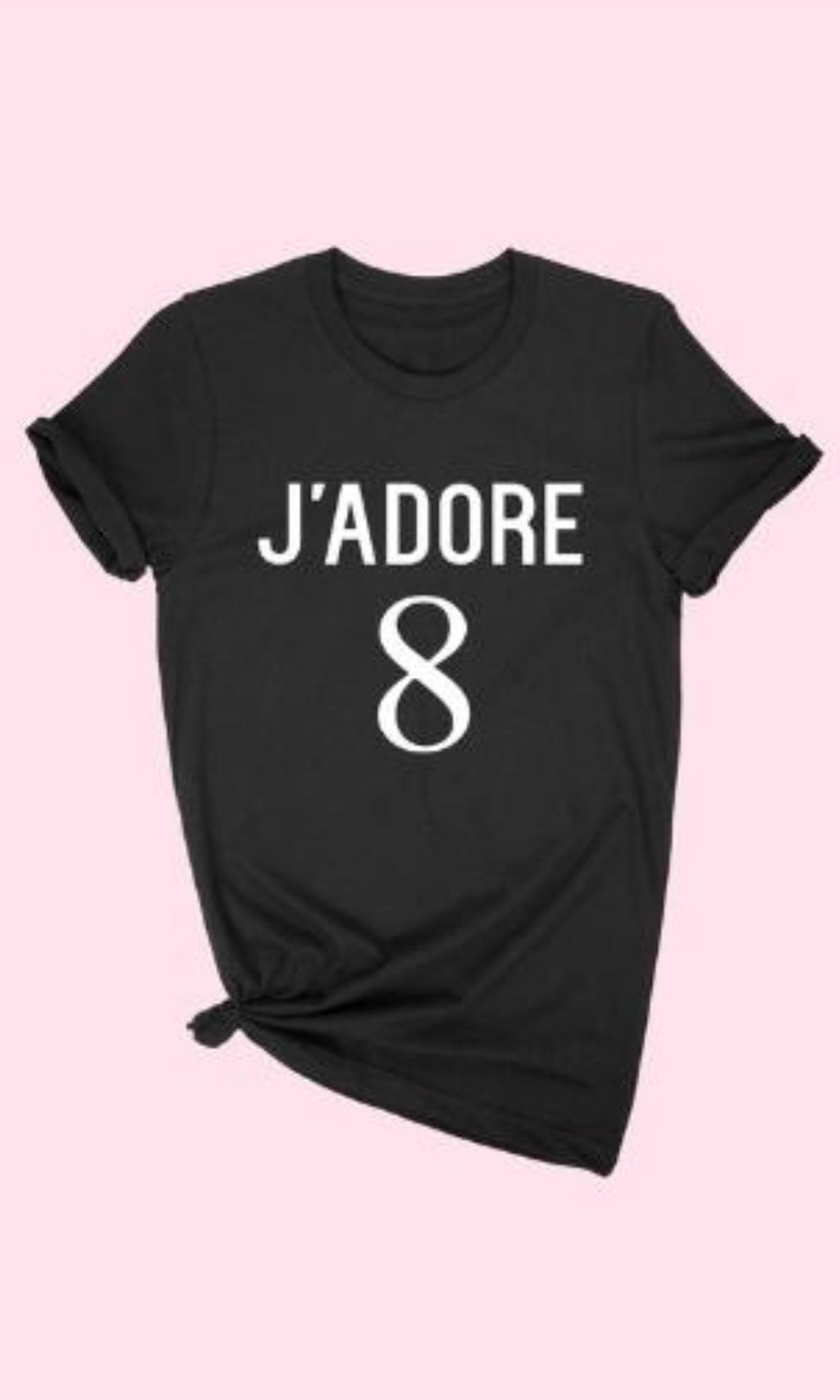 J'adore T-Shirt - OWN YOUR ELEGANCE