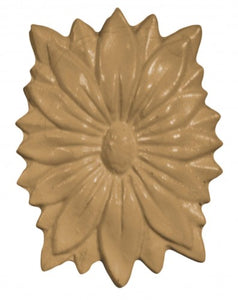 R116 - Flower Buds Trim Rosette