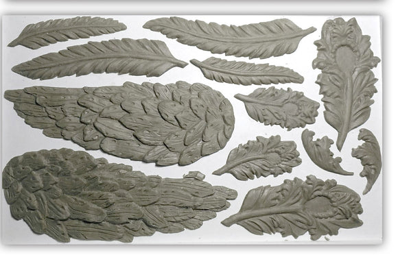 Wings and Feathers Decor Moulds