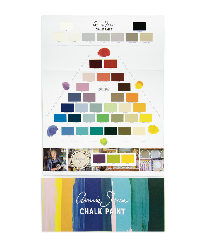 Chalk Paint Colour Card