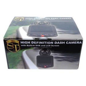 Safety Technology 1080P HD Dash Camera and Built in DVR