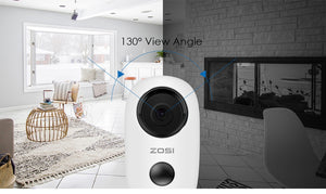 Zosi Rechargable IP Outdoor Camera with Solar Charging Option