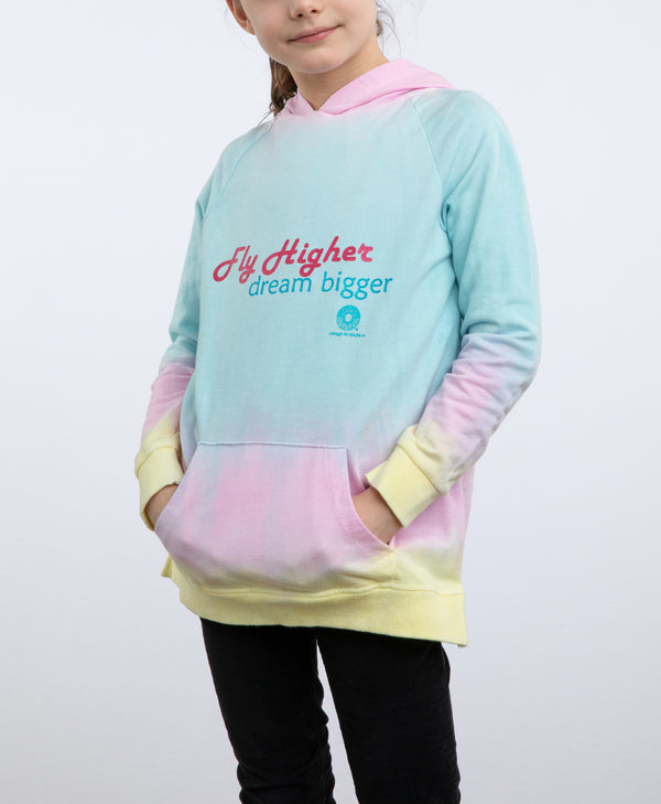 "Cirque du Soleil Kids Rainbow ""Fly High"" Hoodie"