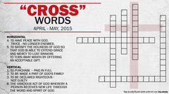 Crosswords: Regeneration - Sunday, May 31, 2015