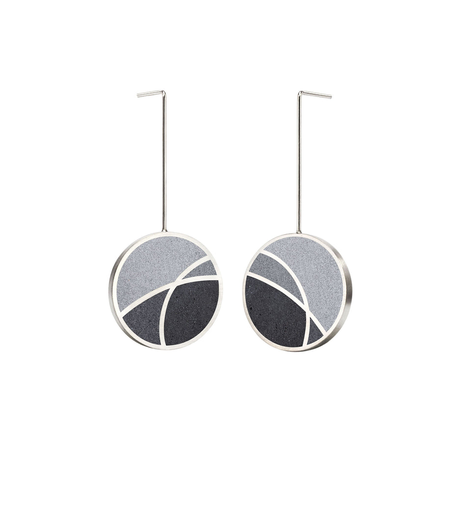 March Balloons - Concrete Drop Earrings 3