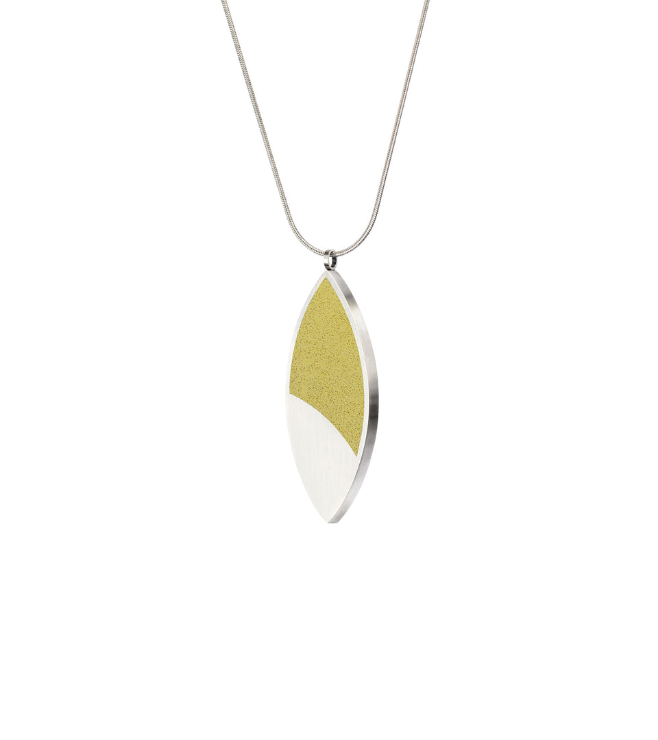 March Balloons - Leaf Concrete Necklace 1