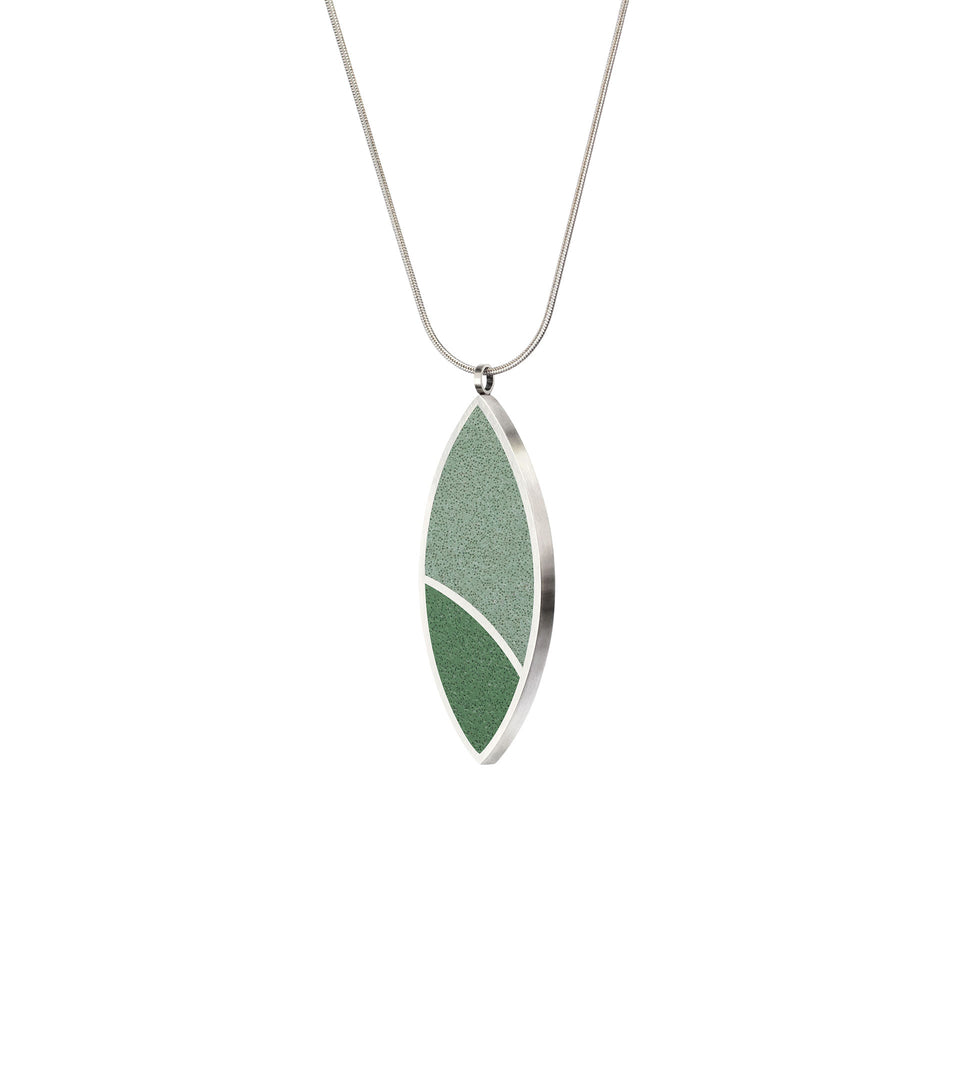 March Balloons - Leaf Concrete Necklace 2