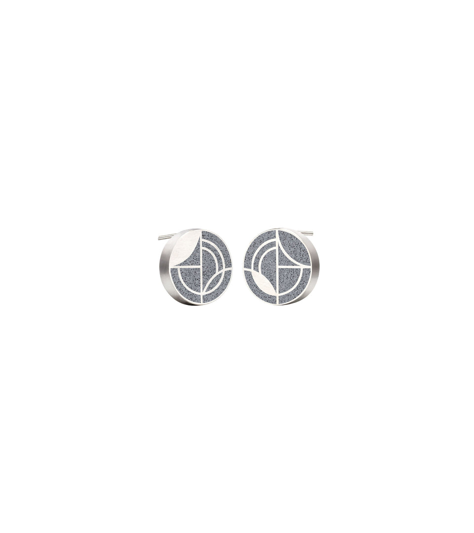 Saguaro - Small Concrete Earring Studs