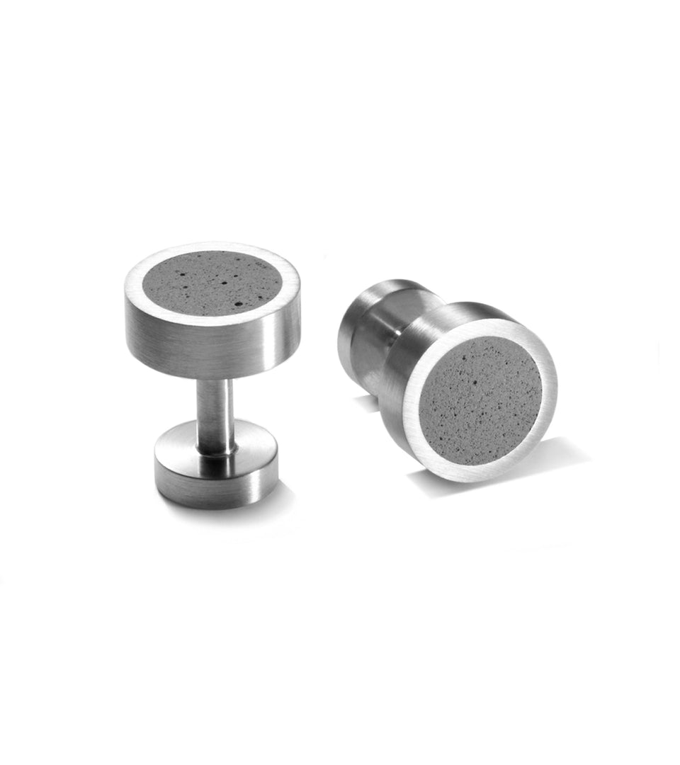 KMc112 Concrete Cufflinks