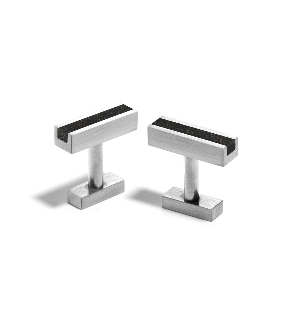 KMc114 Concrete Cufflinks