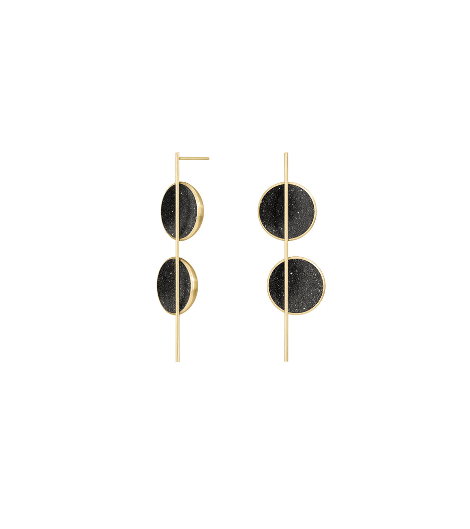 Arago Earrings 14k
