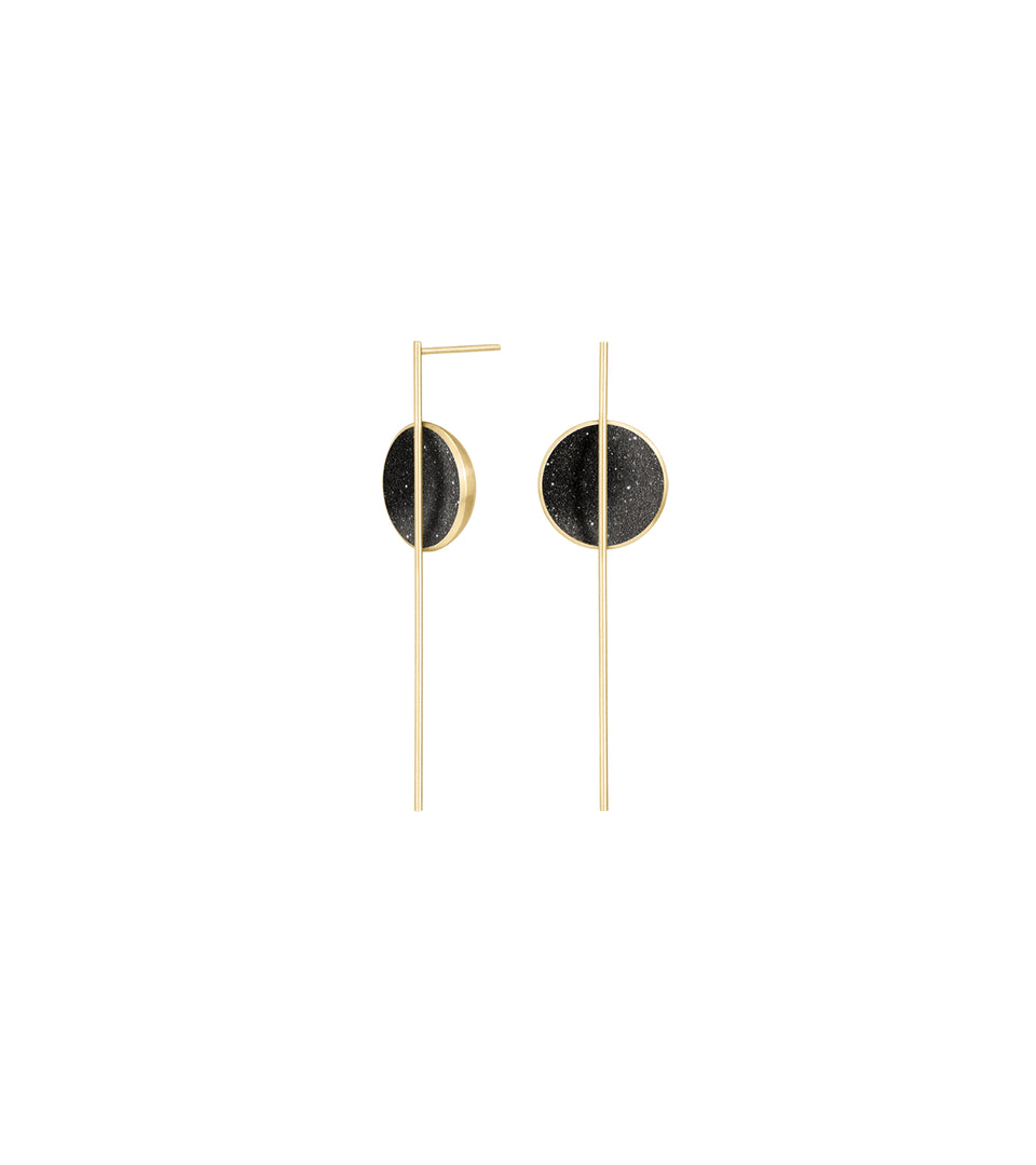 Infini Earrings 14k