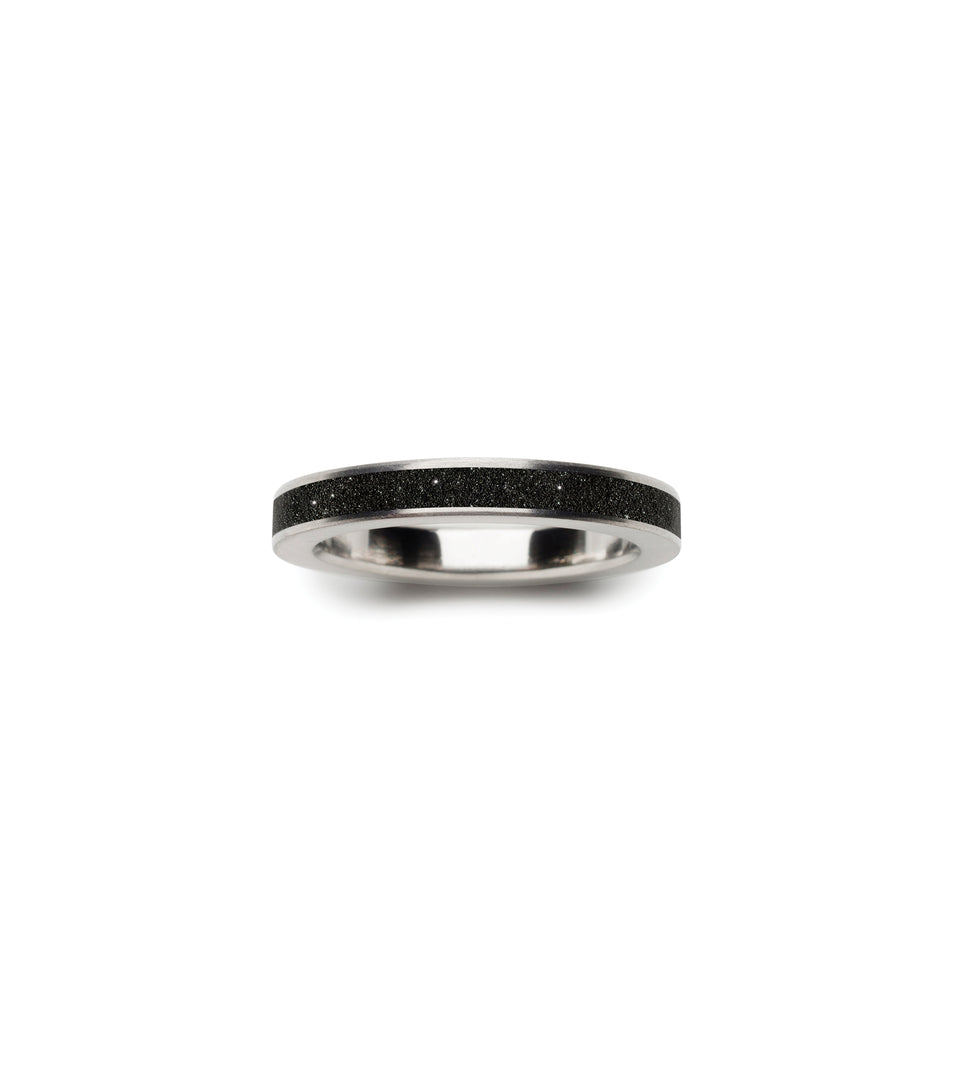 KMr170dd Diamond Dust Concrete Ring