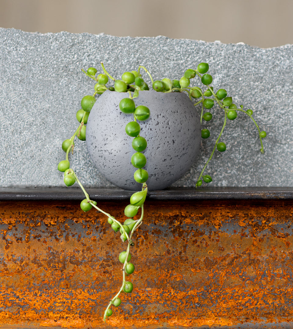 L - Orbis Concrete Vessel - Natural