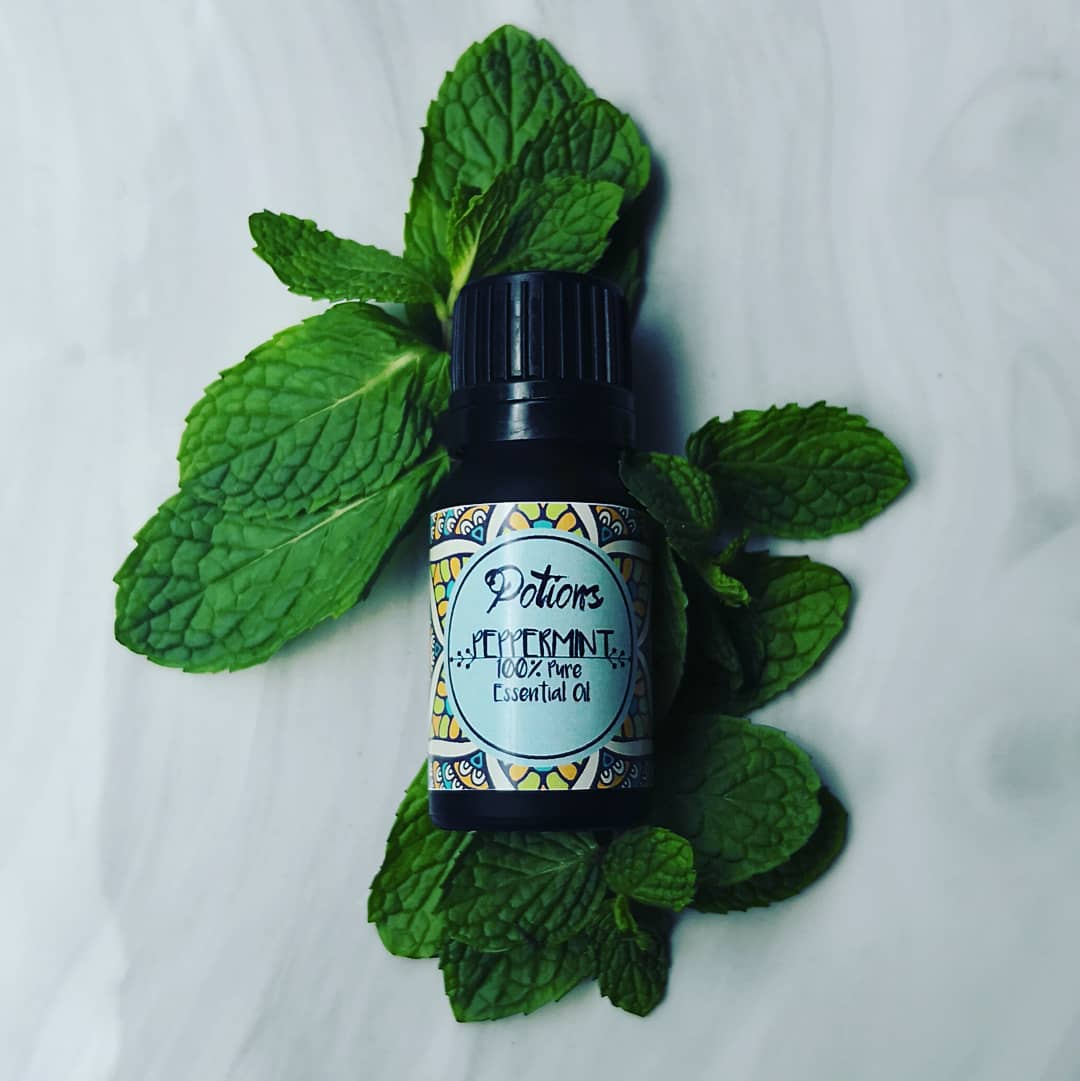 Potions Peppermint Essential Oil - 100% Pure
