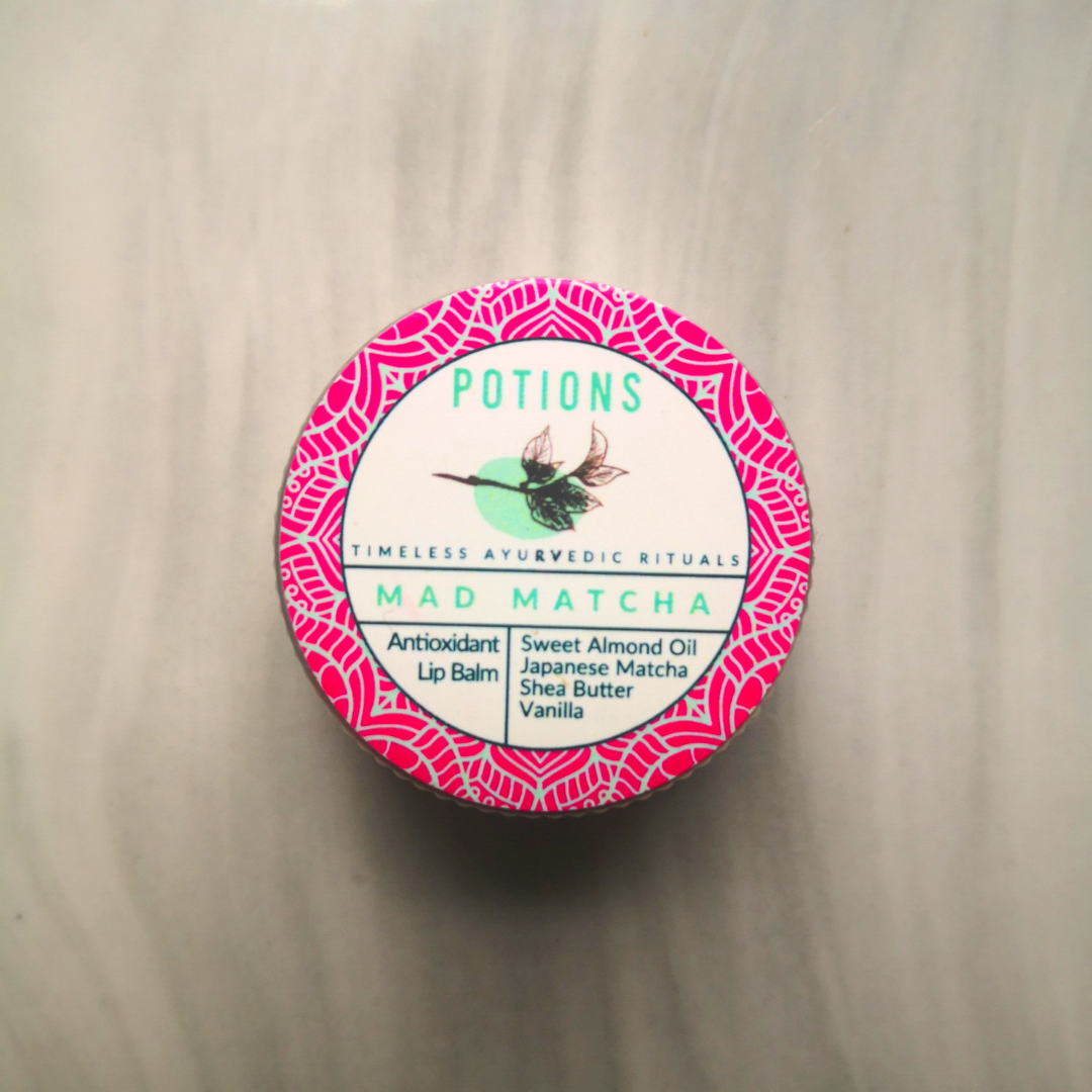 Potions Antioxidant - Mad Matcha Lip Balm