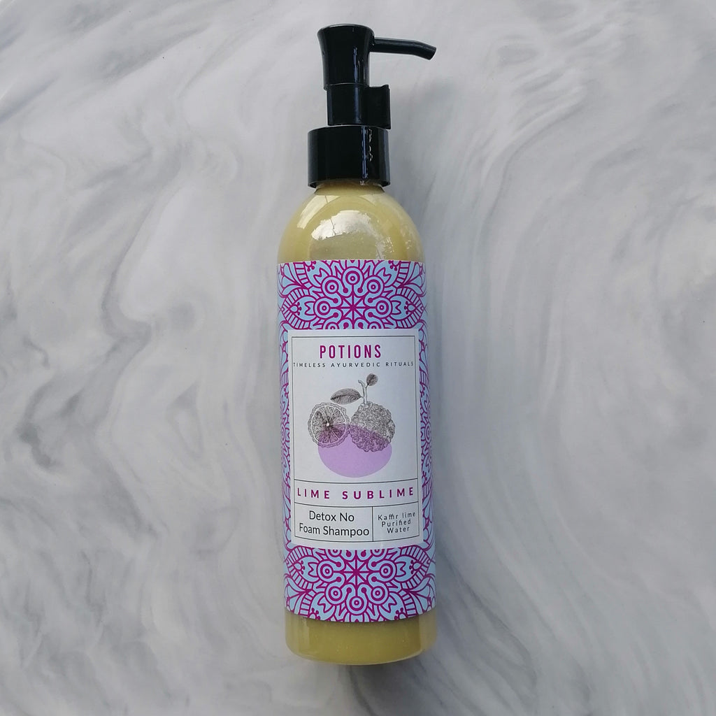 Lime Sublime Detox No Poo Shampoo