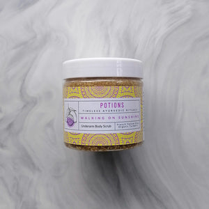Walking on Sunshine Under Arm Body Scrub
