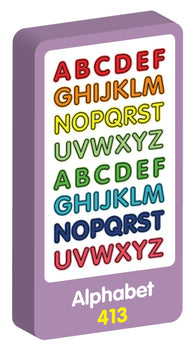 Alphabet Stickers Purple Peach Stickers