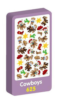 Cowboys Stickers Purple Peach Stickers